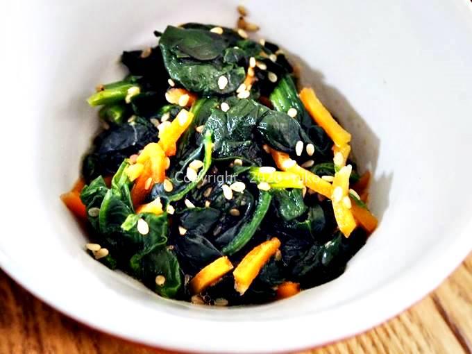 わんまいる 旬の手作りおかずセット 健幸ディナー ほうれん草 にんじん 副菜